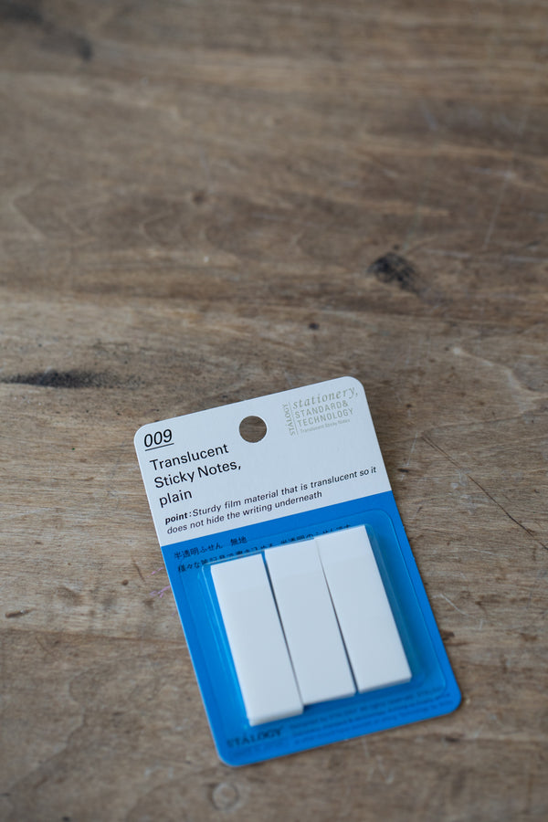 009 Translucent Sticky Notes - Plain 15 mm