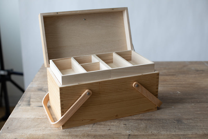 Chestnut Sewing Box