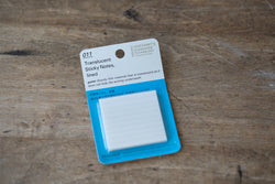 011 Translucent Sticky Notes - Lined 50 mm