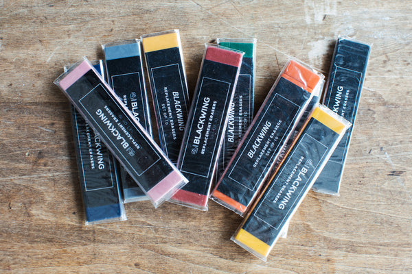 Blackwing Replacement Erasers – Red