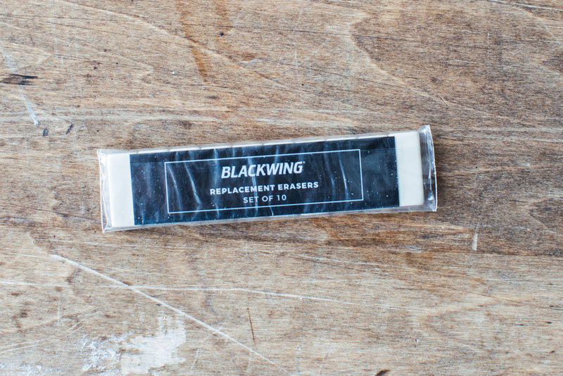 Blackwing Replacement Erasers – White
