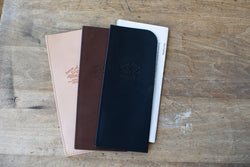 A5 Leather File Slim