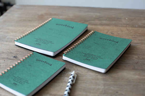 Spiral Pocket Notebook B6