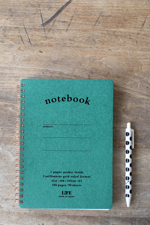Spiral Pocket Notebook A5