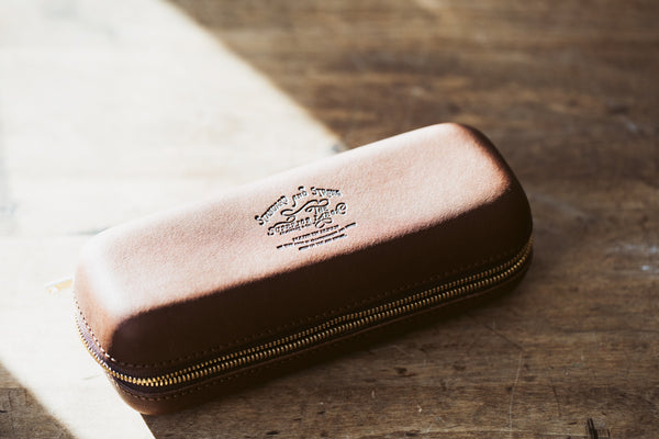 Zip Leather Box - S