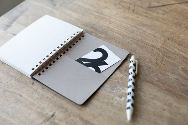 Spiral Pocket Notebook A6