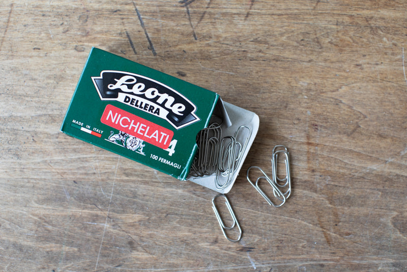 Nickel Plated Paper Clips