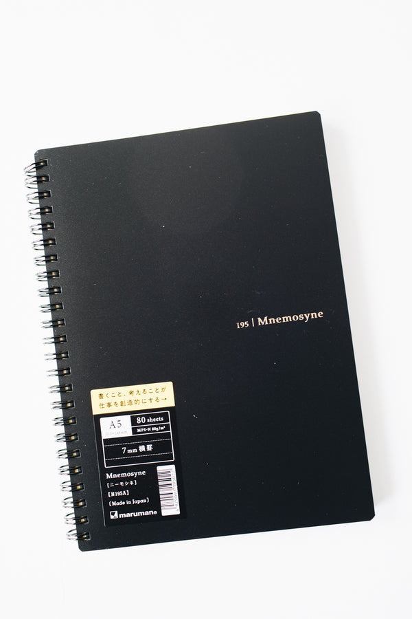 Maruman Mnemosyne A5 Notebook - Lined