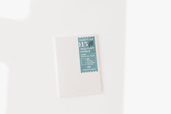Traveler's Notebook Passport Size Refill - 015 Watercolor Paper