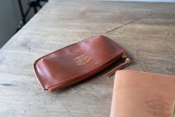 Bridle Leather Pen Case
