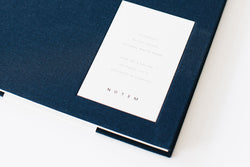 EVEN Notebook Dark Blue - Large