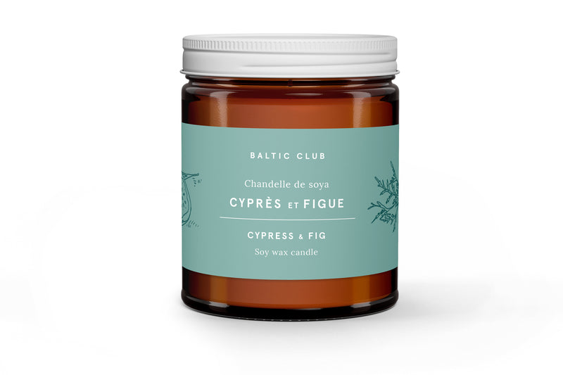 Cypress & Fig Candle