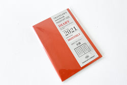 Traveler's Notebook Passport Size Refill 2021 Monthly