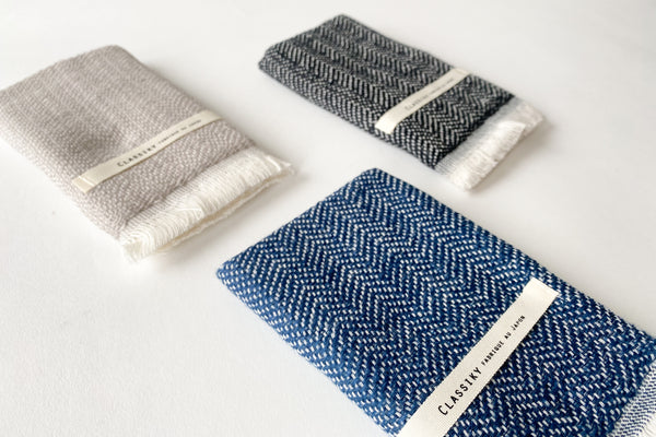 Herringbone Weaving Gauze Mini-Towel