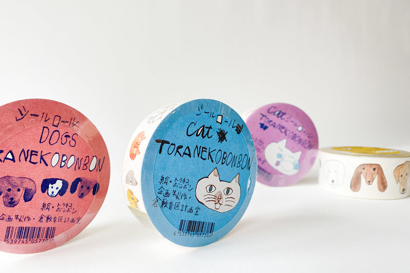 Toranekobonbon Sticker Roll - 18mm