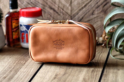 Leather Utility Case - Tan
