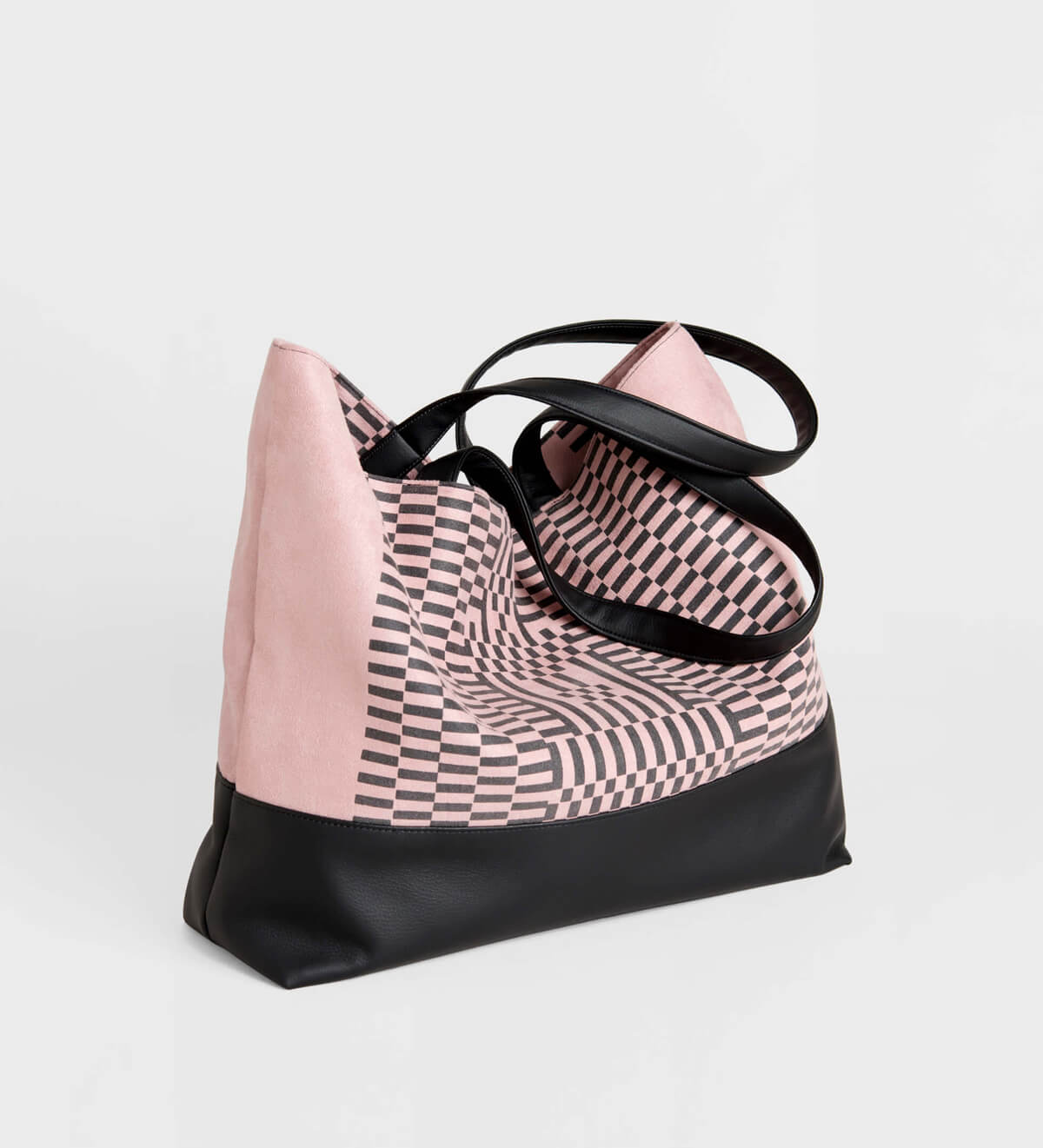 Lee Coren, The Guardian Tote Bag, Dusty Rose