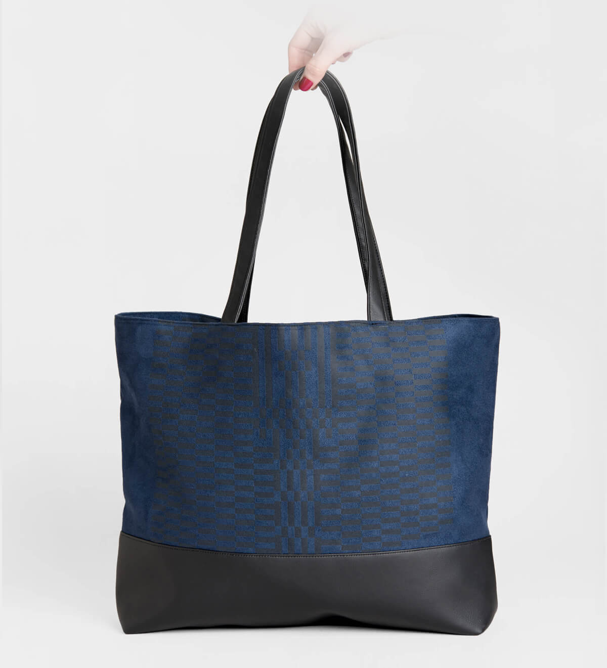 DÉRIVE TOTE BAG, GUARDIAN INDIGO
