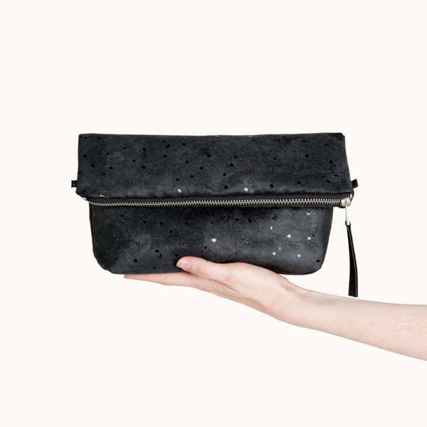 Convertible Vegan Leather Crossbody Bag by Lee Coren
