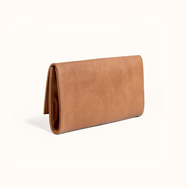 Lee Coren Large Minimal Wallet in Camel