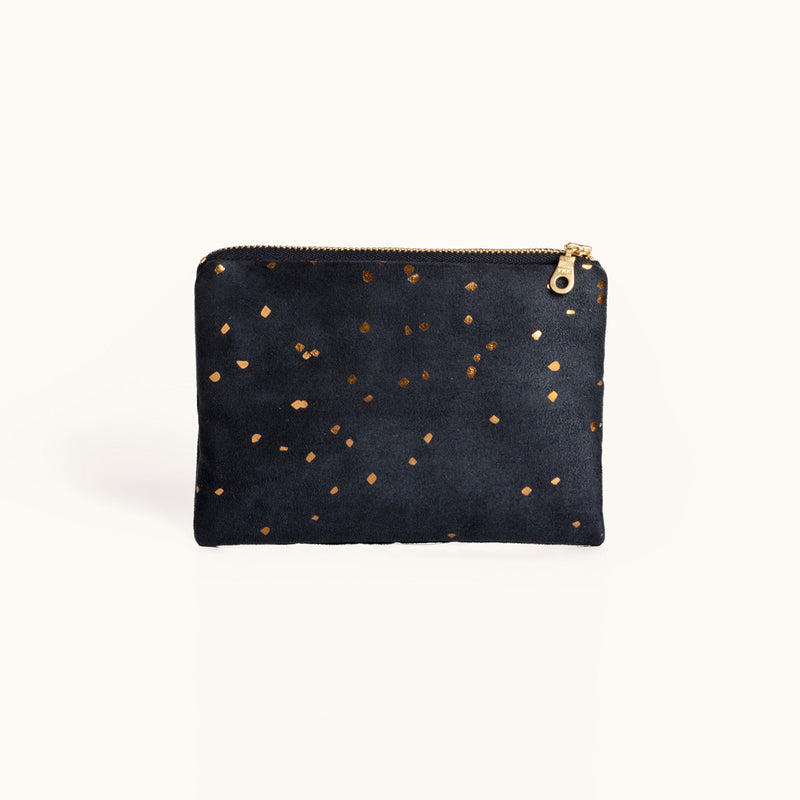Lee Coren Midnight Portofino Pouch