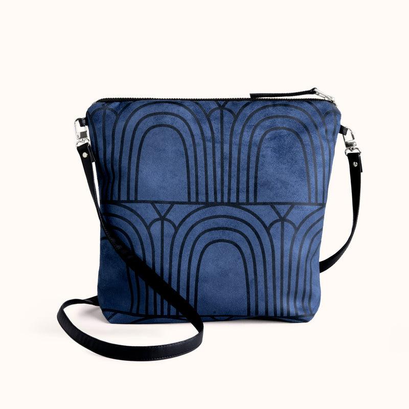 Vegan Crossbody Purse and Foldover Clutch Bag by Lee Coren