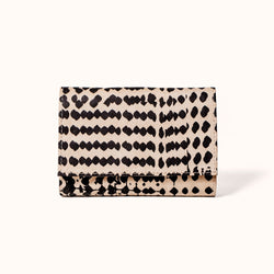 Minimal Faux Suede Women's Wallet | Quality Handmade Vegan Wallet by Lee Coren