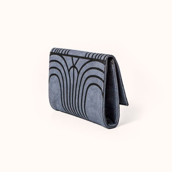 Lee Coren Arches Minimal Wallet. Handmade vegan women's wallet.