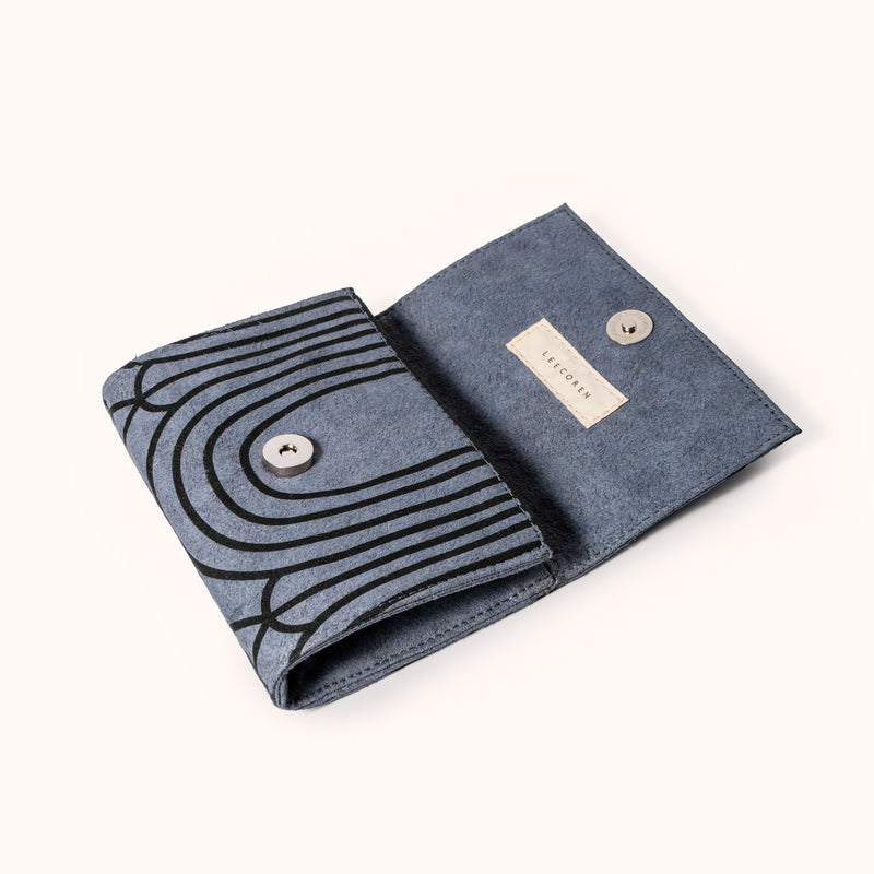 Vegan women wallet, handmade ethically from top quality materials by Lee Coren