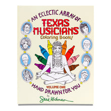 Load image into Gallery viewer, Texas Musicians Coloring Book