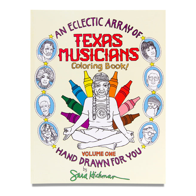 Texas Musicians Coloring Book