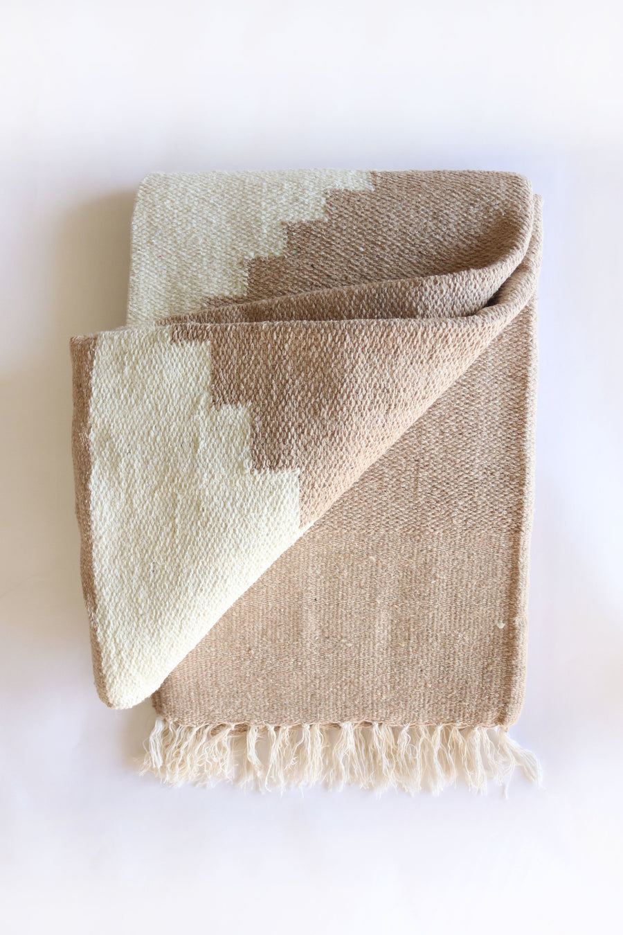 Adobe (Sandstone) XL for King Bed // Handwoven Blanket
