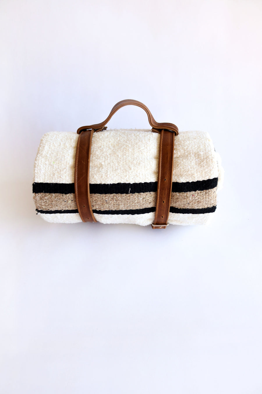 Tote (Espresso Color) // Handcrafted Blanket Holder