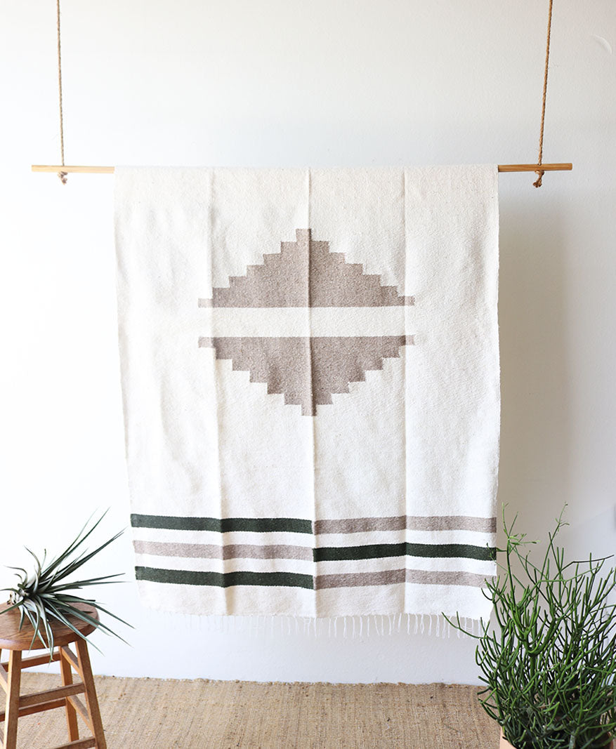 Sand Canyon // Handwoven Blanket (New Limited Edition)