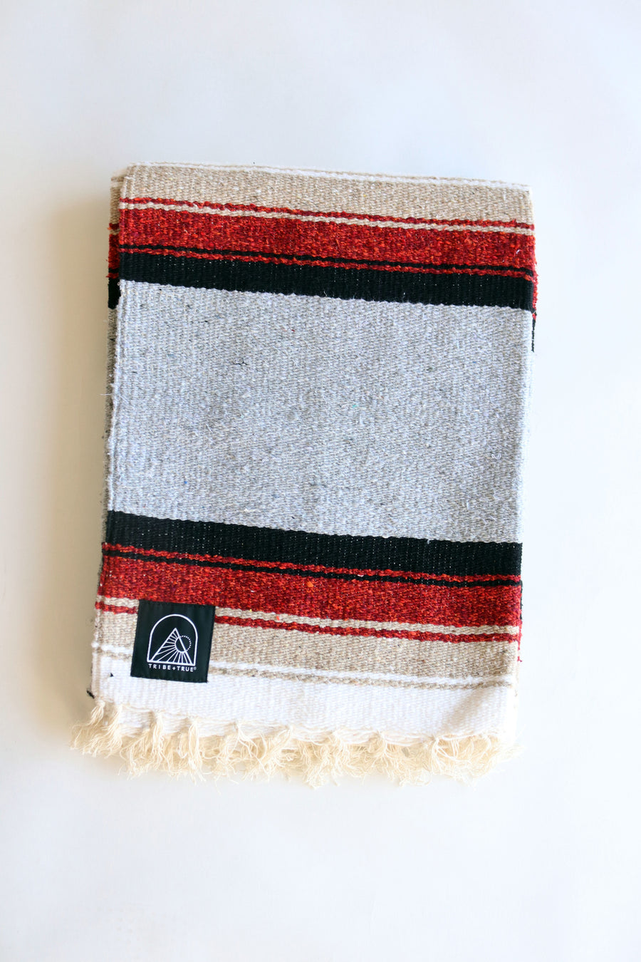 The Original (Light Gray) // Handwoven Blanket