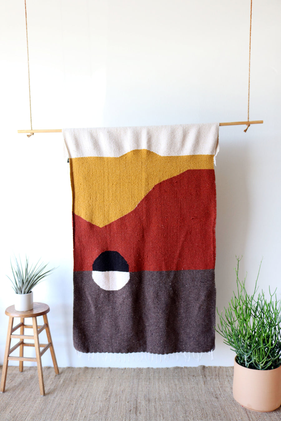 Death Valley Design // Handwoven Blanket