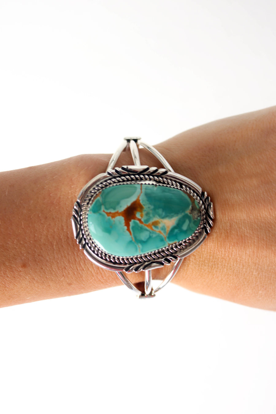 Islands Two// Navajo Turquoise Bracelet