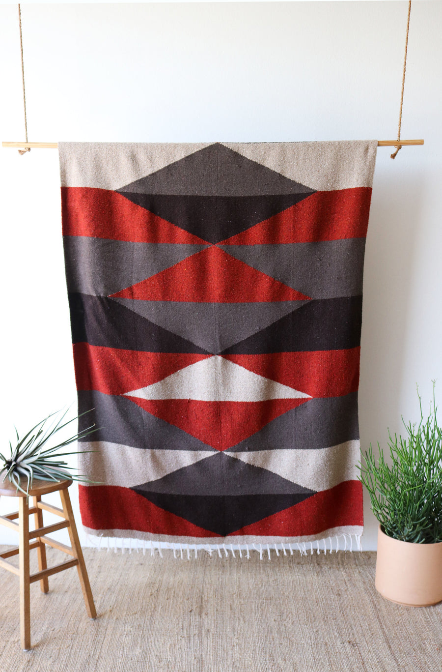 Mojave Diamond (Oversized Limited Edition) // Handwoven Blanket