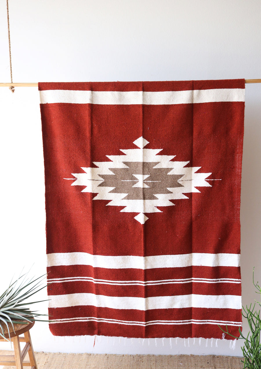 Sedona Diamond // Handwoven Blanket