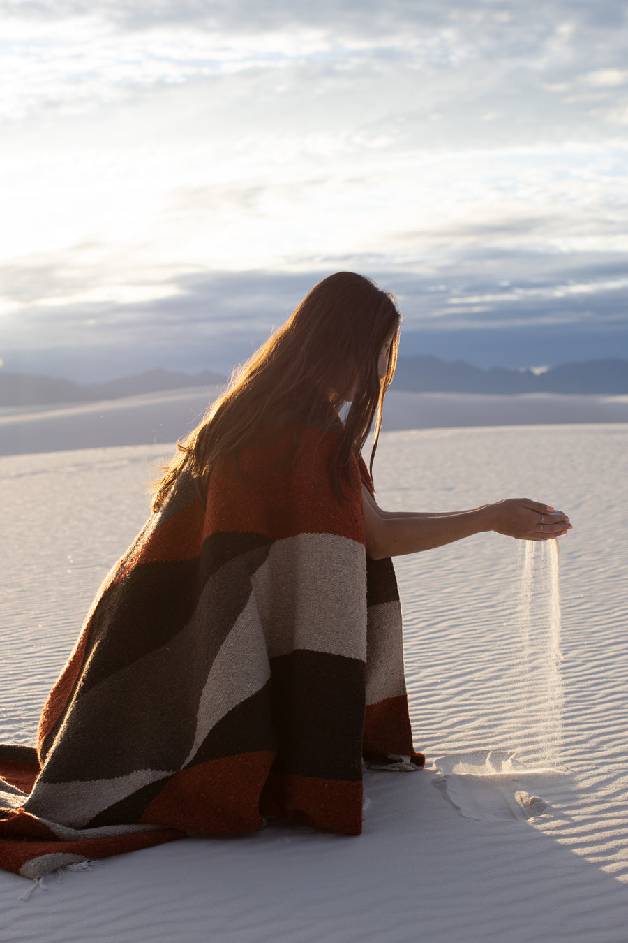 Mojave Diamond (Limited Edition) // Handwoven Blanket