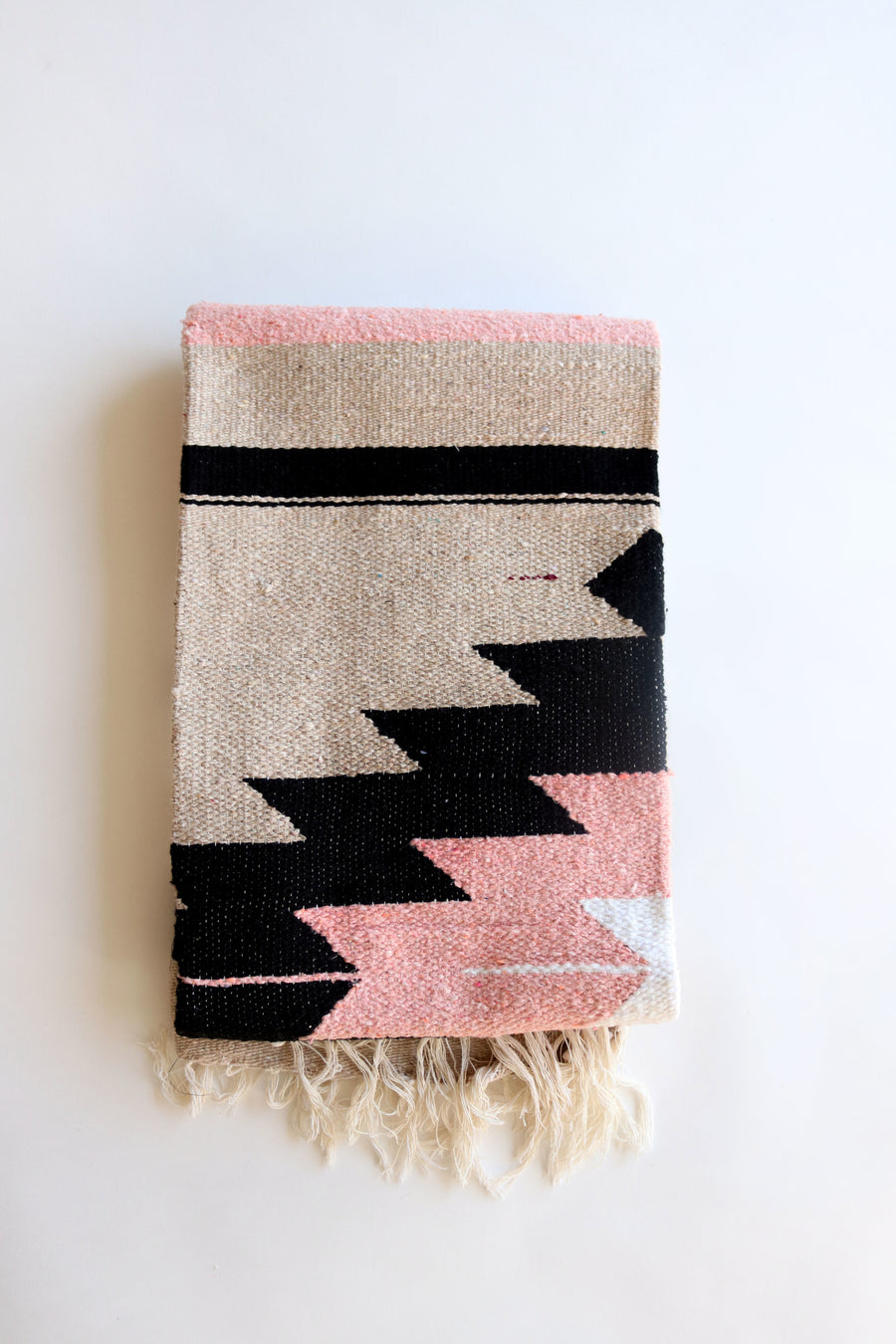 Desert Rose Diamond // Handwoven Blanket