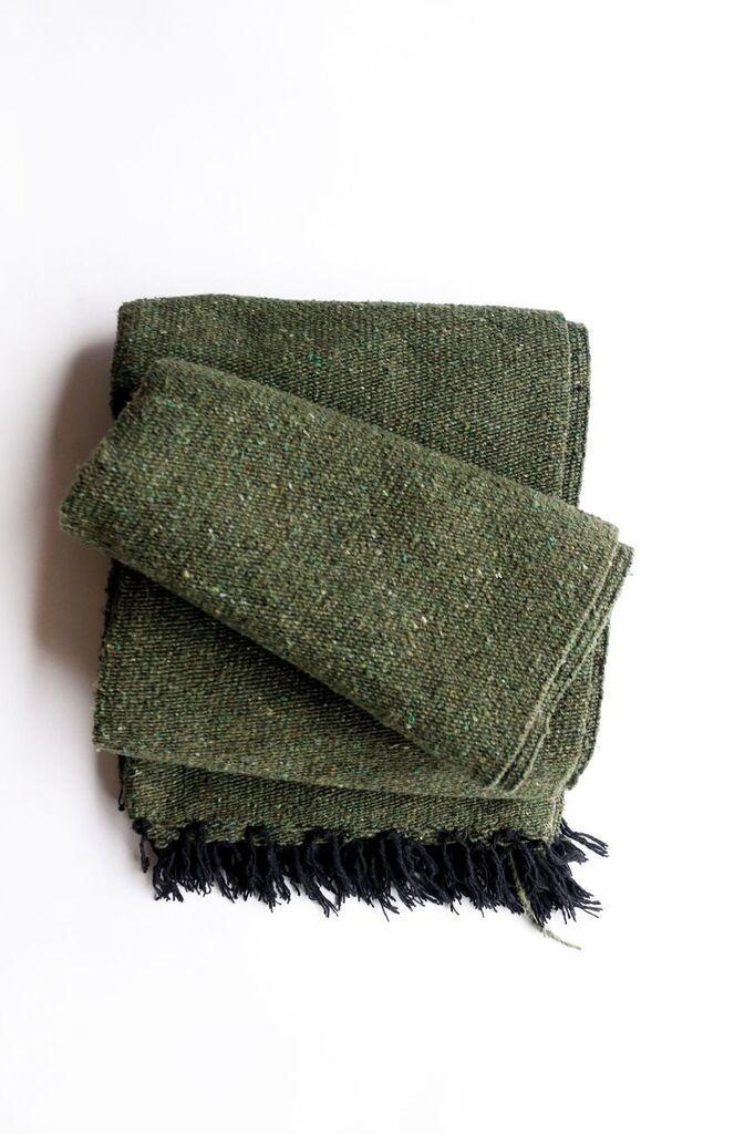 Evergreen // Handwoven Blanket