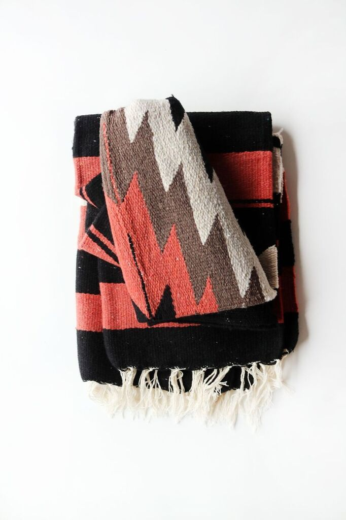 Canyon Diamond // Handwoven Blanket