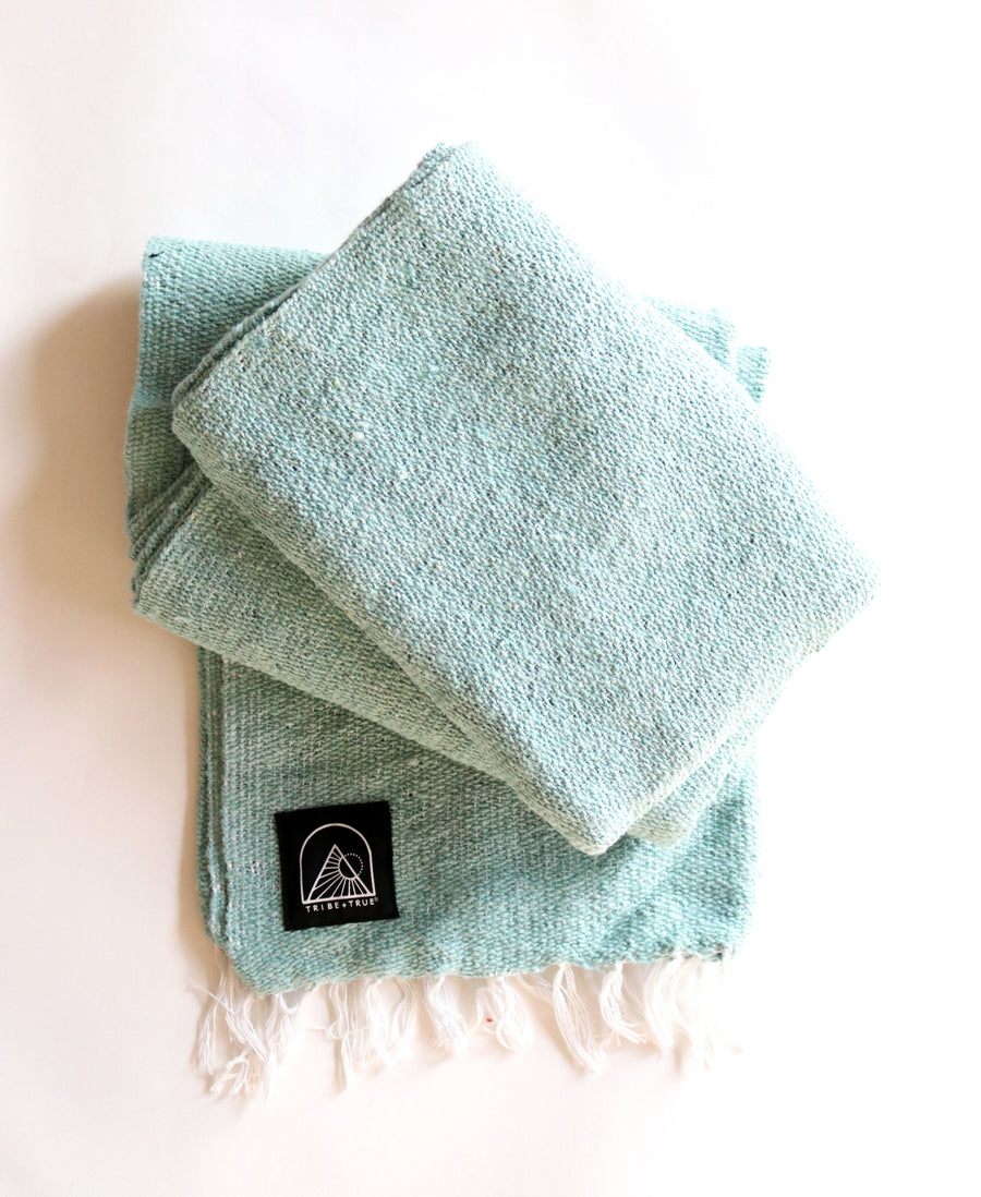 River // Handwoven Blanket (Lightweight)