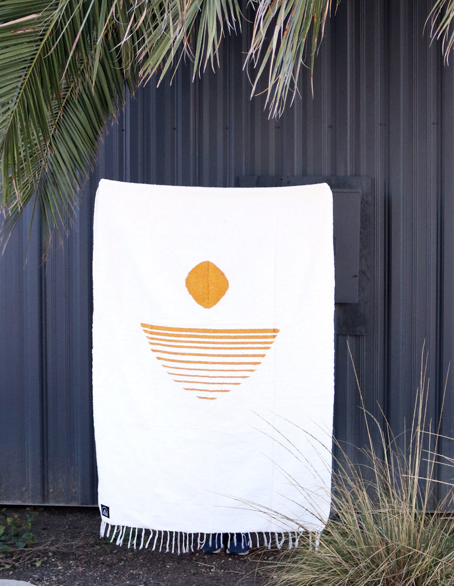 Sunrise Cove // Handwoven Blanket