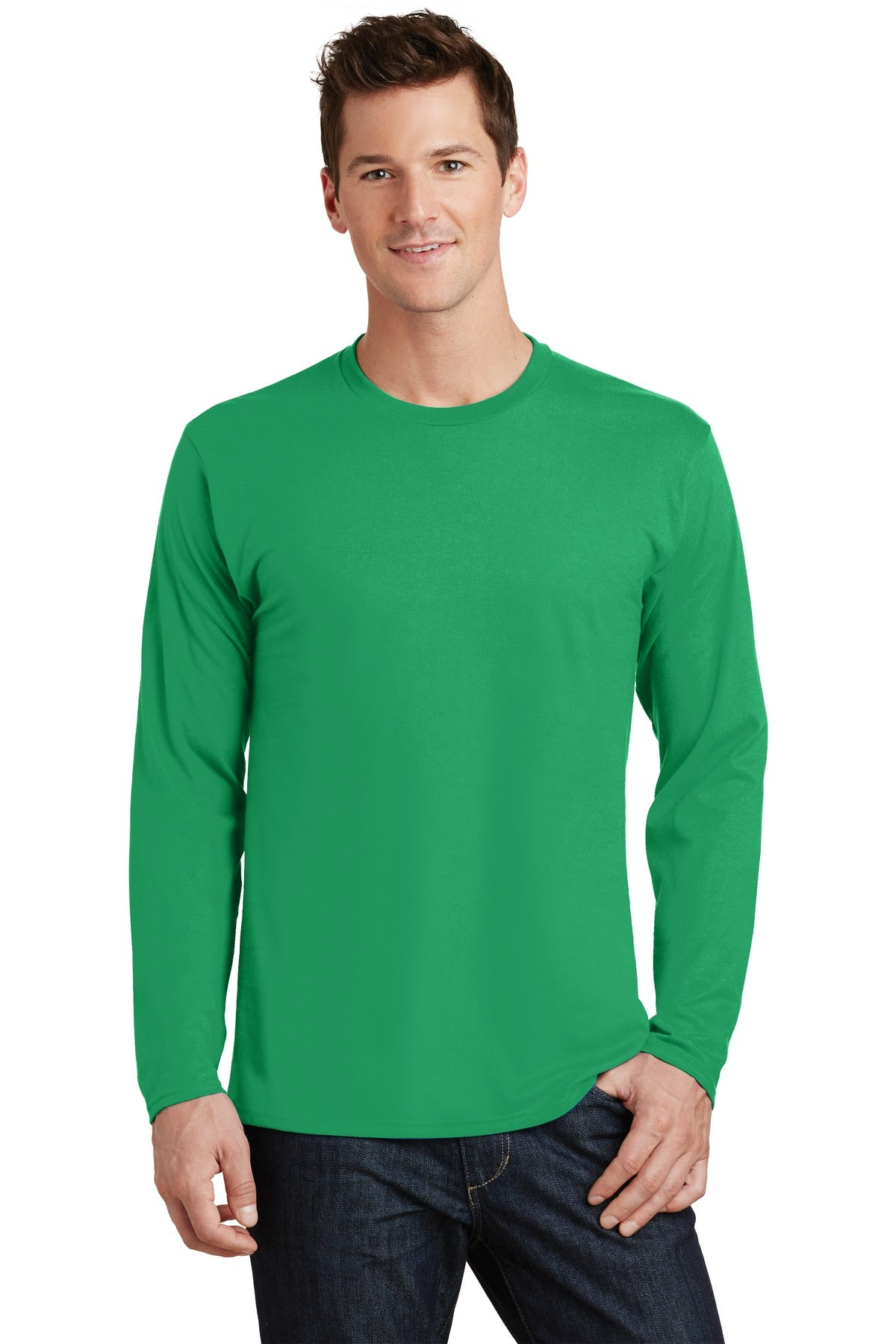 Port & Company® Long Sleeve Fan Favorite™ Tee