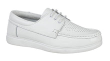Load image into Gallery viewer, Dek Laced Unisex Bowls Shoe available in Grey and White