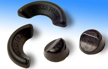 Drakes Pride Set of 4 Rubber Anti Slip Measuring Wedges