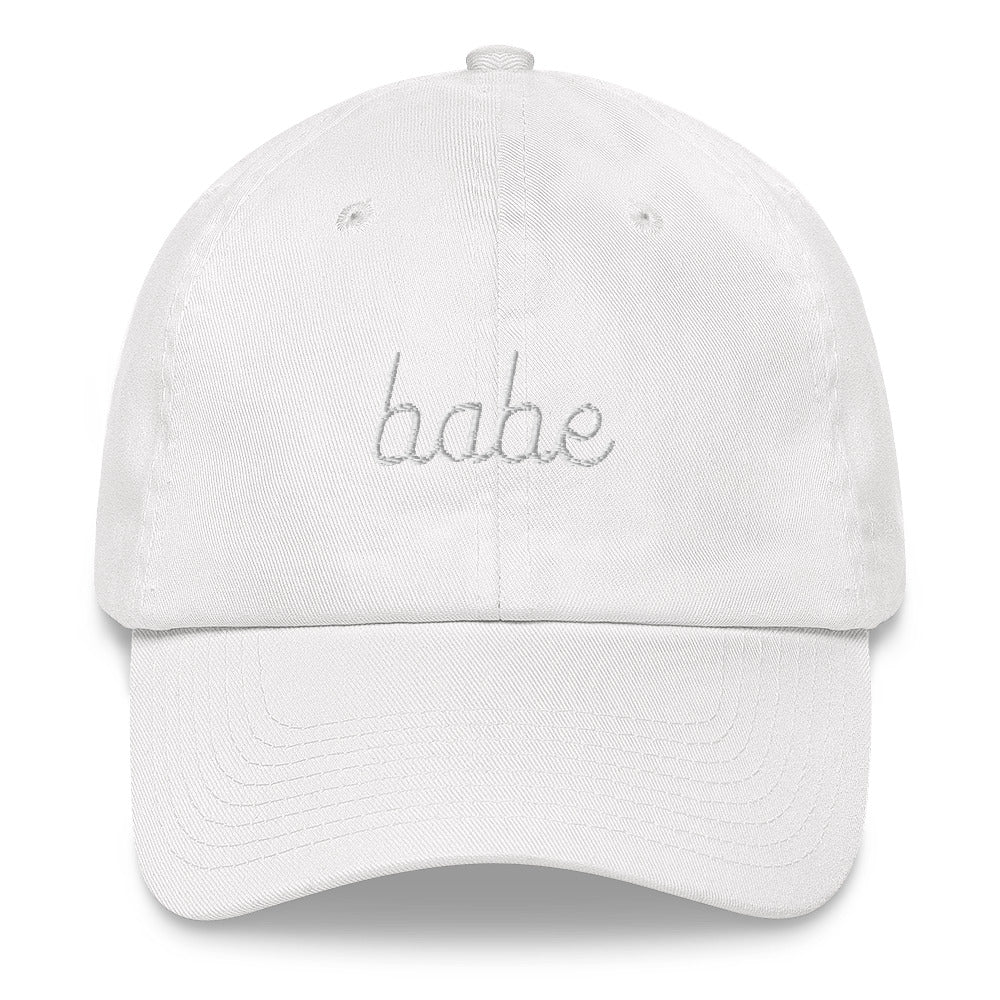 Babe Stitched Cap