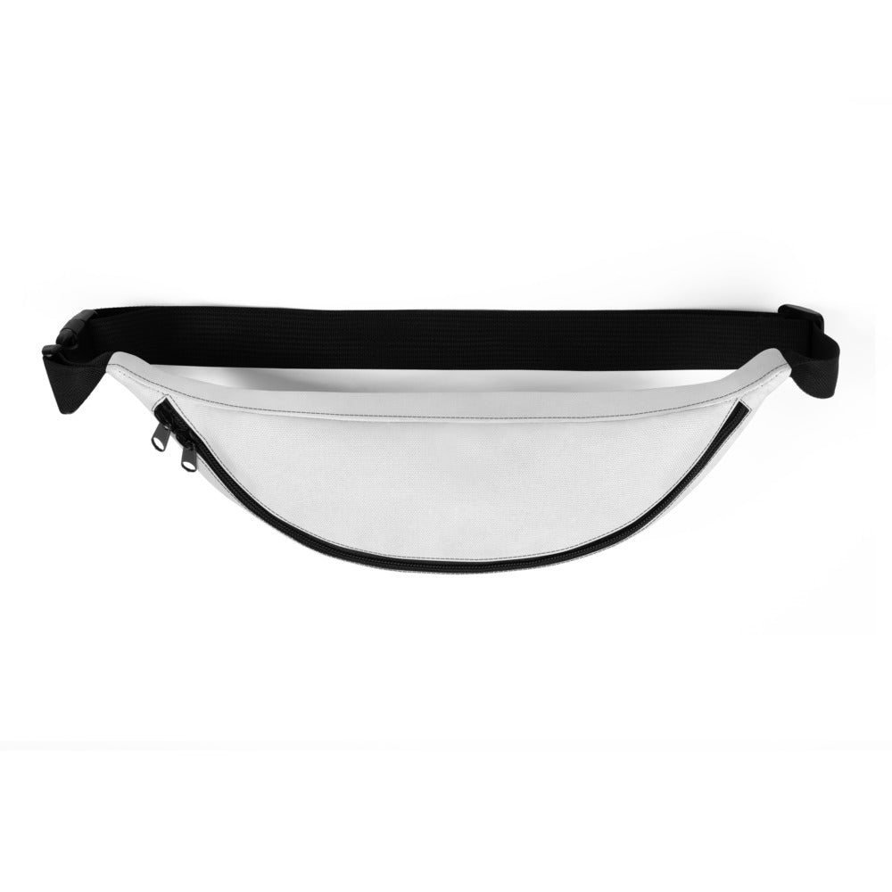 Bride Fanny Pack - White/Pink